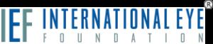 Logo for International Eye Foundation