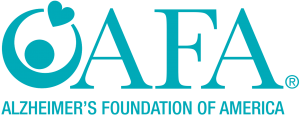 Logo for Alzheimer's Foundation of America