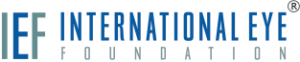 Logo for International Eye Foundation