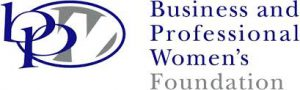 Logo for Business and Professional Women's Foundation